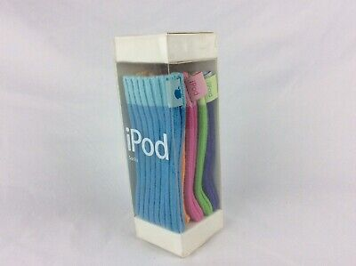 Genuine Apple iPod Socks M9720G/A Full Set of 5 with Original Box