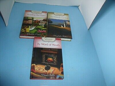 Lot Of 3 Christian Guideposts Secrets Of Mary's Bookshop*reading The Clues