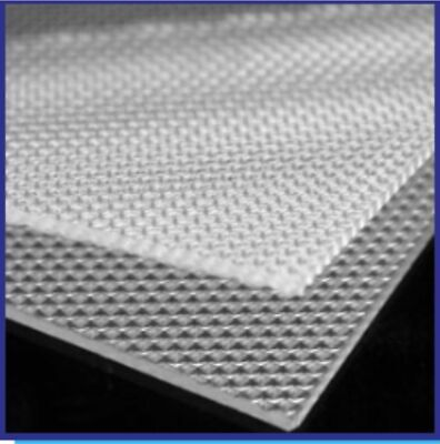 3mm CLEAR PRISMATIC ACRYLIC LIGHT DIFFUSER 595x595 for Suspended Ceilings 4 PACK