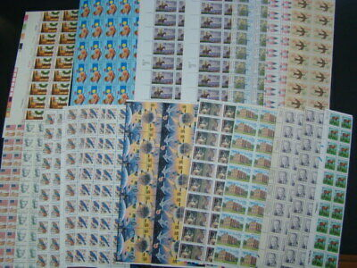 $768.46 Face Value All Mint Usable Postage Lot Blocks Mostly 25c-29c Nice!!