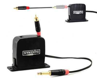SNAKEKING RCA Cord 4.5 feet Retractable Phono Connection for Tattoo Power Supply