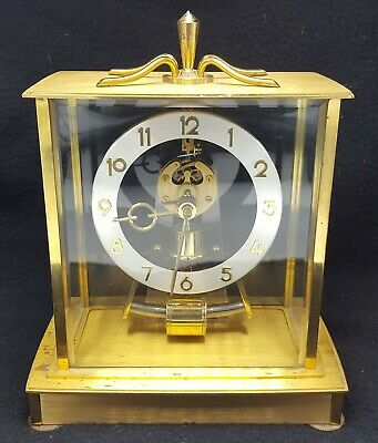Kieninger Obergfell Kundo Electronic Mantle Clock Made Western Germany - Works