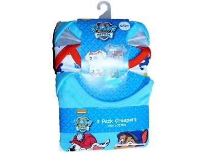 SALE Paw Patrol, Superman 3 Pack Bodysuits 0/3 And 3/6 Months