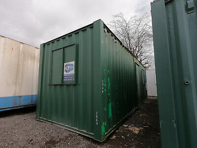 24ft x 8ft SITE CABIN SITE OFFICE CANTEEN PORTABLE BUILDING UNIT £2750 + VAT