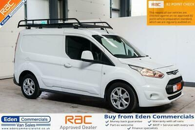 2015 15 Ford Transit Connect 1.6 200 Limited P/V White Panel Van
