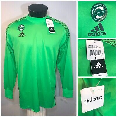 9ecdfe9ce9a Adidas Onore 16 Goalkeeper GK Jersey Green Elbow Padded AH9700 Men s Size  Large