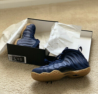 f2bfa28b6a0a3  Brand New  Nike Air Foamposite One Midnight Navy Gum Light Brown 314996-405