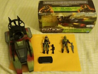 Gi joe The Rise Of Cobra Sting Raider with Copperhead//Swamp-Viper Action Package