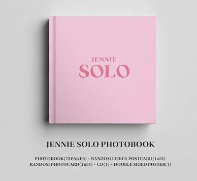 Kpop Blackpink Jennie Solo Photobook + Free Tracking Number