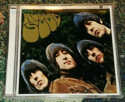THE BEATLES - Rubber Soul CD U.S.CapitoL ST2442 STEREO Version!