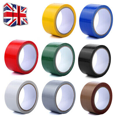 50mm x 10m Duck Duct Gaffa Gaffer Waterproof Adhesive Repair Cloth Tape