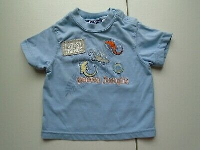 BABY Q Boys size 3-6 mo Cute FOREST FRIENDS Tee