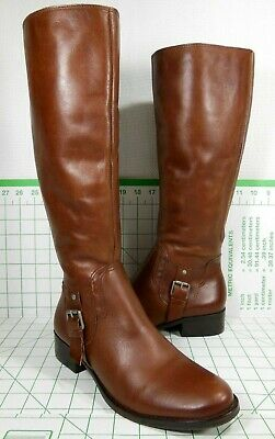 0c711ee143ed Matisse® Foxtrot Expresso Leather Elastic Goring Zipper Riding Boots Size  8.5🌹