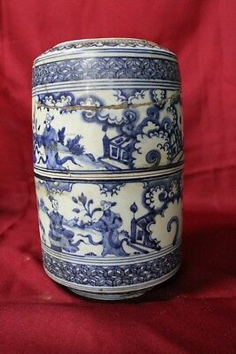 Antique Chinese Porcelain Brush Box Ming Dynasty High Quality Old China