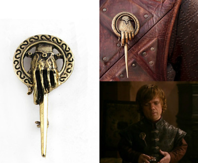New Arrive Game of Thrones Hand of the King Bronze Metal Alloy Brooch Pin Badge
