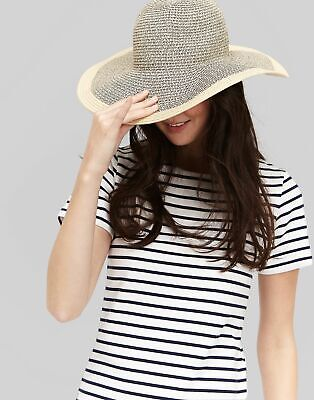 bcb376a1b JOULES WOMENS DORA Fedora Sun Hat ONE in FRENCH NAVY in One Size ...