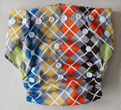 Baby Cloth Diaper  Washable Reusable Pocket Best Nappy diaper cover  PJB01