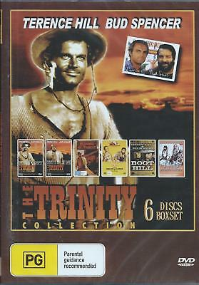 The Trinity Collection Dvd . 6 Discs Set .new And Sealed(Multi Dvd Player Neded)