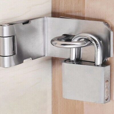 Cabinet Box Hasp and Staple Lock Spring Latch Catch Toggle Locks For Sliding B