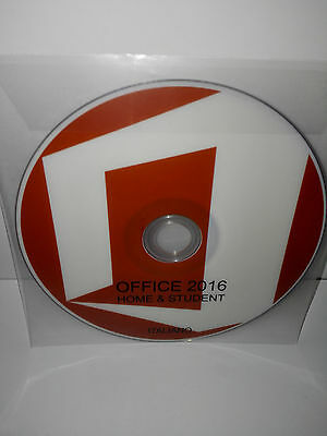 Dvd - Office 2016 Home & Student - 32/64 Bit Full - Italiano (Microsoft)