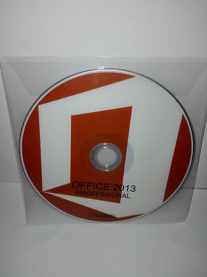 Dvd - Office 2013 Professional - 32/64 Bit Full - Italiano (Microsoft)