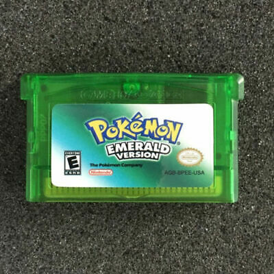 Nintendo Game Boy Advance For Pokemon Emerald Gba Mint Perfect Working Condition