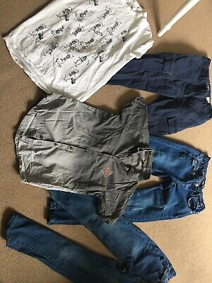 Boys Bundle Outfits Jeans Shirt Tops Tshirts Next Tu T-Shirt Top Age 13