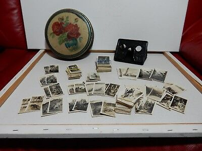 The Camerascope 3D Stereoscope Vintage Antique 1920s Viewer with Lots of Cards