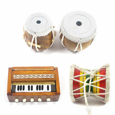 HANDMADE SHOWPIECE WOODEN Miniature Harmonium Fridge Magnets - Home