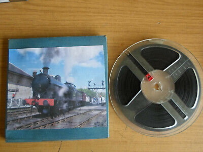 Super 8mm sound 1x400 THE RIDE OF THE 480. Steam trains railway film.