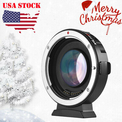 Viltrox EF-M2 Auto Focus Adapter Speed Booster for Canon EF Lens to MFT W7A2
