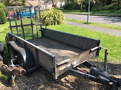 Ifor Williams plant trailer 8x4 GD84G