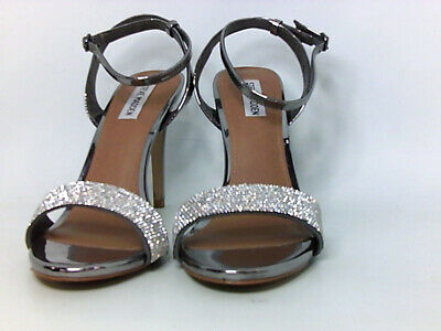 cc0d3253954 STEVE MADDEN WOMENS Ritter Fabric Open Toe Special Occasion