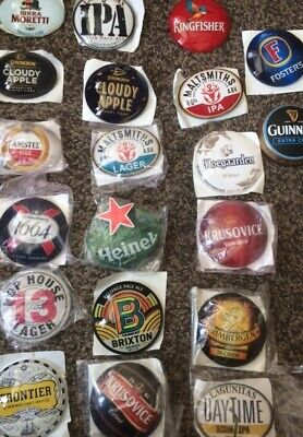 20 Font / Beer Tap Badges / Advertising / Font / Breweriana
