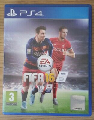 FIFA 16 PS4 (Sony PlayStation 4, 2015) Mint Condition - Free Delivery