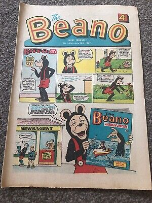 The Beano No. 1406 - June 28th, 1969