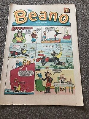 The Beano. No 1408. 12 July 1969