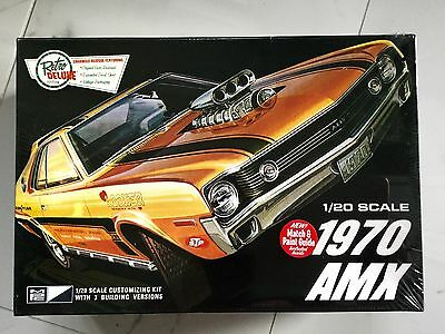 Mpc 1/20 Amc 1970 Amx 3 In 1 Model Builds Stock Custom Or Race Versions # 814 Fs