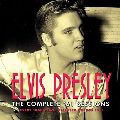 Elvis Presley - The Complete '61 Sessions. 2 x CD. New & Sealed