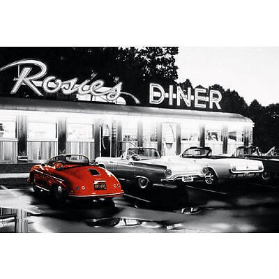 ROSIE'S DINER - CLASSIC POSTER - 24x36 SHRINK WRAPPED - CARS NOSTALGIC 17024