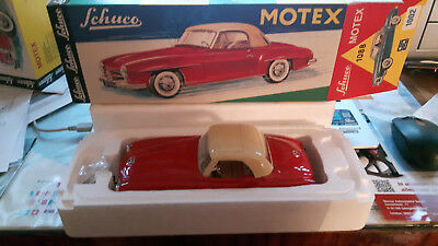 SCHUCO Motex 1088, Mercedes190SL, rot Replica No. 00220 in makelloser OVP, MINT