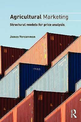 Agricultural Marketing. Structural Models for Price Analysis by Vercammen, James