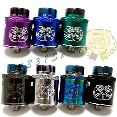 24MM Drop Dead Atty Rda Hellvape 8XColors Squonk+Standard Pin USA FAST Shipping