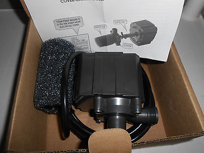 New Danner UL E160713 LISTED 8C99 Water Garden utility pond pump fish MODEL 5 NR