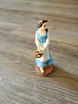 Disney Store Figure Beauty And The Beast Belle Glitter Princess cake topper
