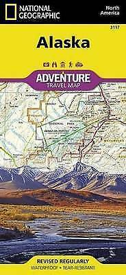Alaska by National Geographic Maps - Adventure (Sheet map, folded book, 2016)
