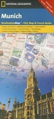 Munich. Destination City Maps by National Geographic Maps (Sheet map, folded boo