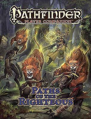 Pathfinder Player Companion: Paths of the Righteous by Staff, Paizo (Paperback b