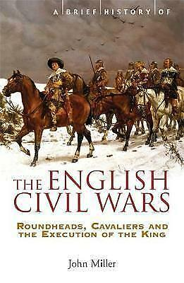 A Brief History of the English Civil Wars by Miller, John (Paperback book, 2004)