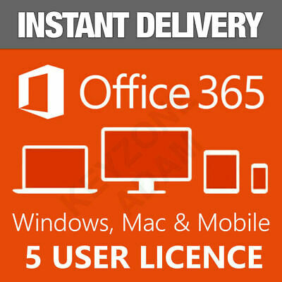 Microsoft Office 365 Account 5 Devices 5Tb Windows/mac Fast Delivery